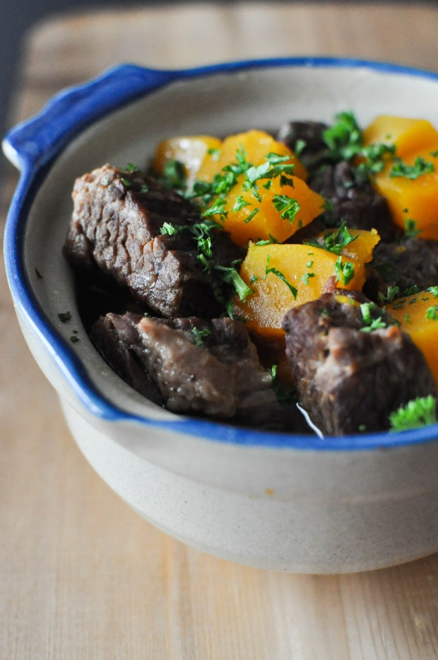 Paleo Winter Squash and Beef Stew | Fed+Fit-33